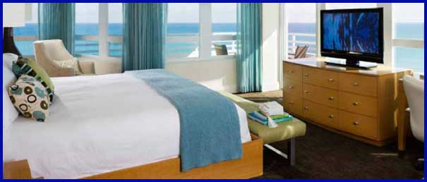 Accommodations at Miami Beach Ocean Front Resort